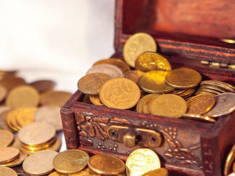 Un tesoro encontrado en un campo (tomado del Oráculo cristosófico): (Mt 13, 44)