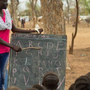 Sudán del Sur: corriendo por los refugiados