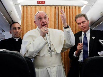 """Papa Francisco: """"Las entrevistas siempre tienen un valor pastoral, es una manera de comunicación de mi ministerio"""""""