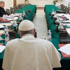 XX reunión del Papa con el consejo de los nueve cardenales