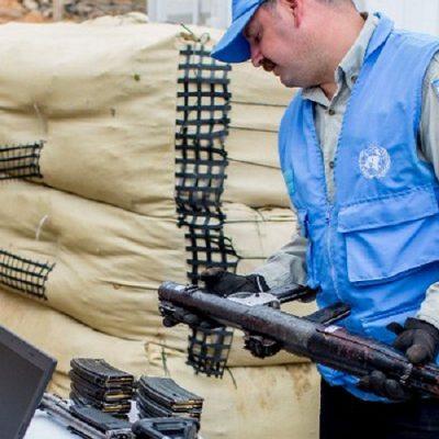 Comenzó la tercera entrega de armas individuales de las FARC
