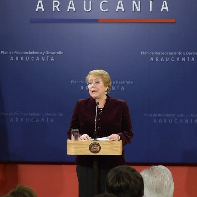 Presidenta Bachelet anunció Plan de Desarrollo y reconocimiento de la Araucanía