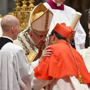 Jesús los llama a servir a los hermanos como Él y con Él: el Papa a los nuevos cardenales