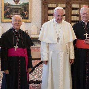 Audiencia del Papa con obispos venezolanos: diálogo, consolación y cercanía al pueblo