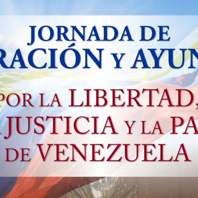 Conferencia Episcopal Venezolana convoca este viernes a una Jornada de ayuno y oración