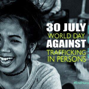 Declaración conjunta para el Día Mundial contra la Trata