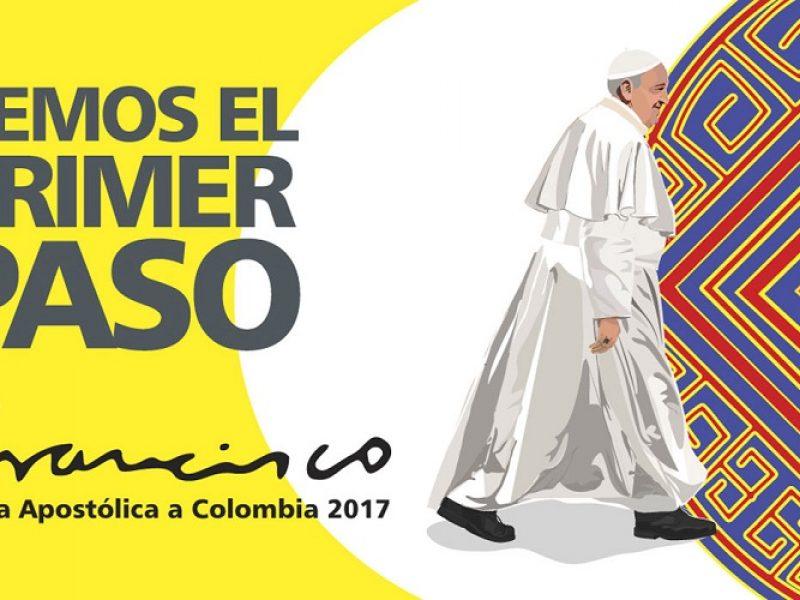 Francisco, tercer Pontífice que visita Colombia