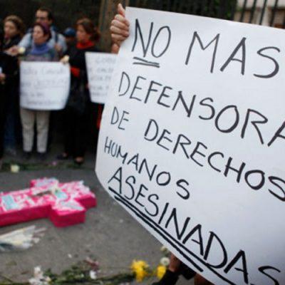 Se incrementan los crímenes contra líderes sociales en Colombia