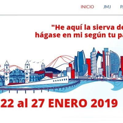 Activo el sitio web de la Jornada Mundial de la Juventud en Panamá 2019