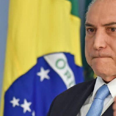 El presidente de Brasil evitó ser enjuiciado