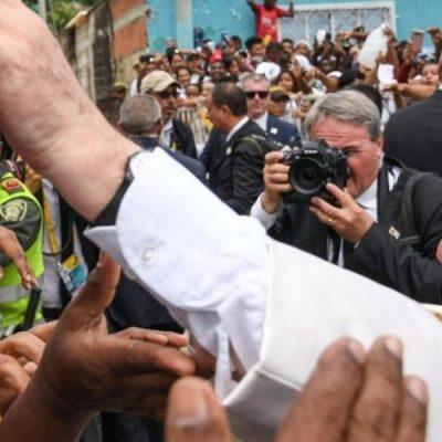"""Desde Colombia: """"El Papa Francisco, nos ayudó a dar el primer paso"""""""