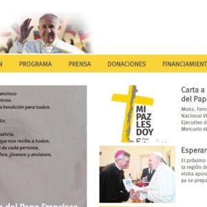 Franciscoenchile.cl es el sitio oficial que informará sobre la visita del Papa en la web