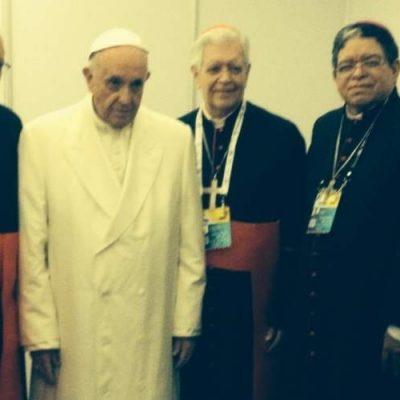 Papa Francisco animó a los obispos venezolanos a seguir adelante