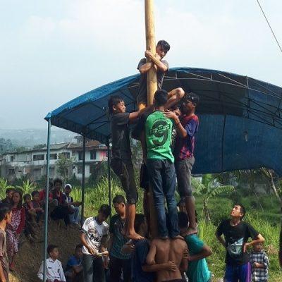 Indonesia: recién llegados celebran el Día de la Independencia