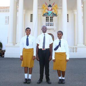 Kenia: el viaje de una joven refugiada a la Casa Presidencial