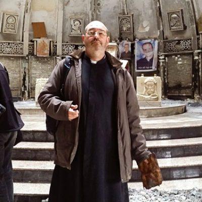 Padre Luis Montes: «Muchos cristianos en Irak perdieron todo»