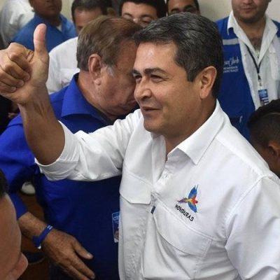 El presidente Juan Orlando Hernández habría triunfado en Honduras