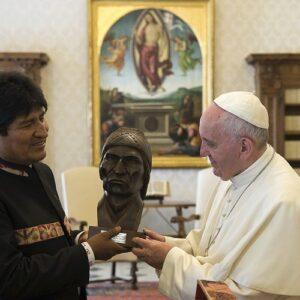 Bolivia: Presidente Morales irá al Vaticano el 15 diciembre