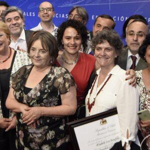 Presidenta entregó los Premios Nacionales 2017
