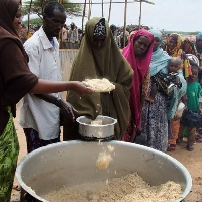 Haití sufre un déficit de alimentos