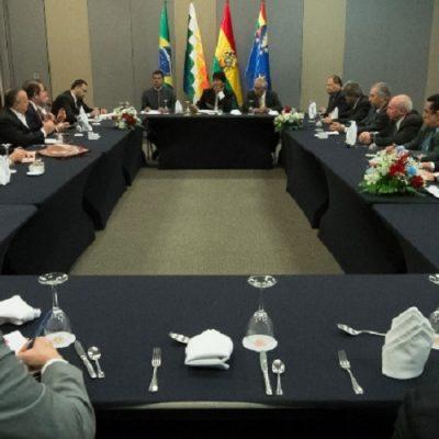 Bolivia y Brasil acuerdan avanzar en el Corredor Ferroviario Bioceánico