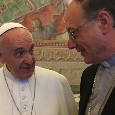 El Papa Francisco está por llegar a Chile