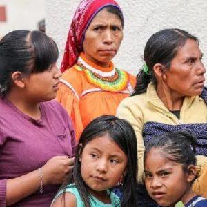 Entre los indígenas las mujeres son las más discriminadas