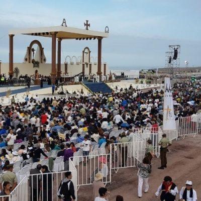 El Papa saludó a la comunidad del norte de Chile en Iquique