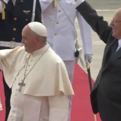 Perú: el pueblo sale a las calles de Lima a recibir al Papa con júbilo