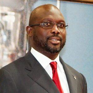 De campeón en fútbol a presidente de Liberia