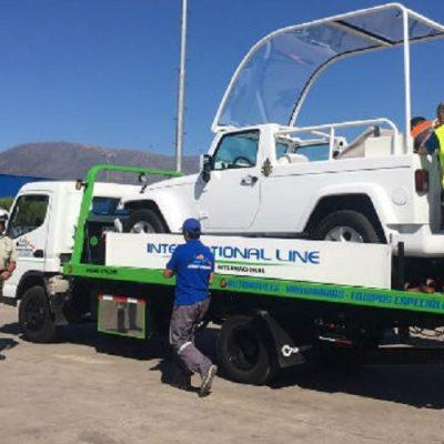 Papamóviles de Santiago y Temuco fueron llevados a la Escuela de Carabineros