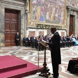 Papa: derechos humanos, justicia y paz para los pueblos del mundo