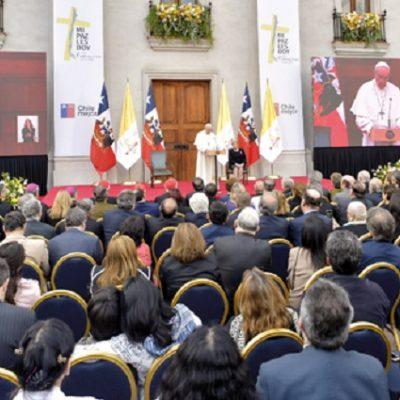 El Papa en Chile: Antes de la unidad, hay que escucharse y reconocerse