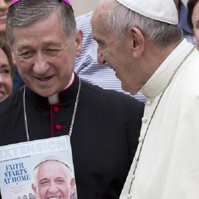 """Cardenal Cupich: Amoris Laetitia es """"un cambio de paradigma revolucionario"""" en la Iglesia"""