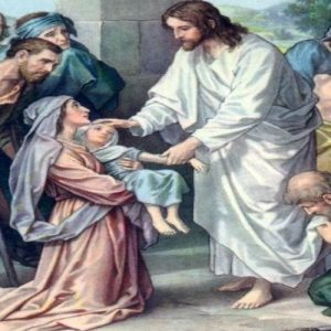 Jesús y la sirofenicia
