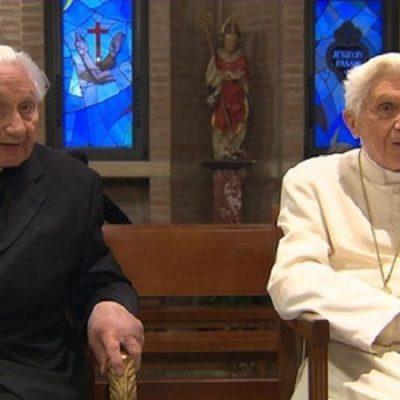 """Georg Ratzinger: """"Mi hermano padece una enfermedad paralizante"""""""
