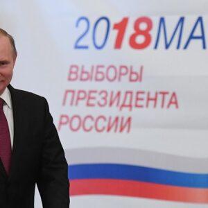 Putin, reelecto en Rusia con el 76% de los votos