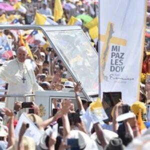 En recuerdo agradecido de la vista del Papa Francisco