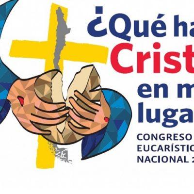 Estos son el lema y el logo del Congreso Eucarístico