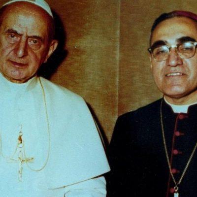 Romero y Pablo VI, santos