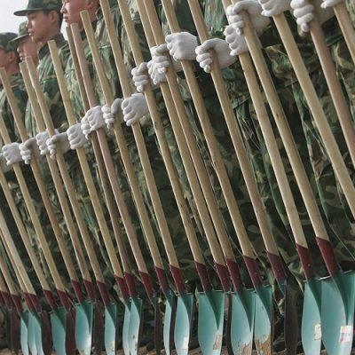 China destina militares a su plan de reforestación