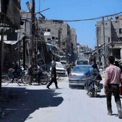 Douma: la antesala del horror