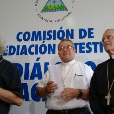 Iglesia de Nicaragua convoca una mesa de diálogo nacional