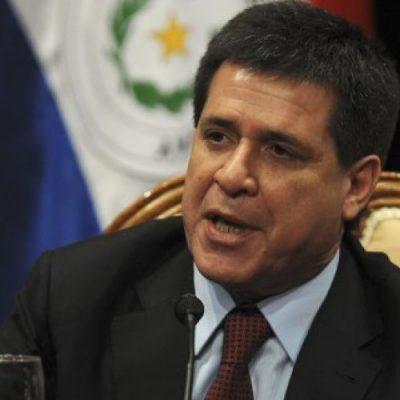 Presidente de Paraguay renuncia para asumir como senador