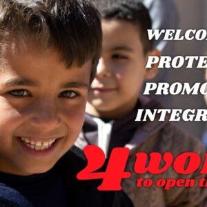 """Día Mundial de los Refugiados: """"Cuatro Palabras para Abrir el Mundo"""""""