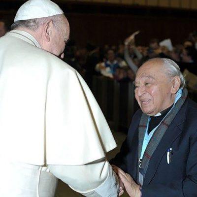 El Papa Francisco felicita a Gustavo Gutiérrez en su cumpleaños 90