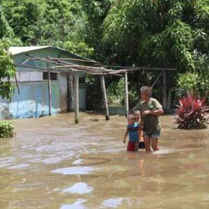 En Venezuela, el Orinoco comienza a crecer y amenaza con desbordar sus cauces