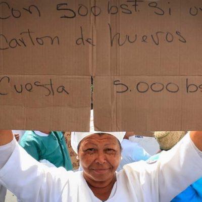 Venezuela: Enfermeras, policías y militares