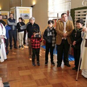 Inauguran exposición sobre la visita del Papa