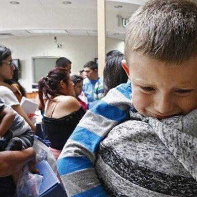 Estados Unidos: Más de 700 menores siguen separados de sus padres